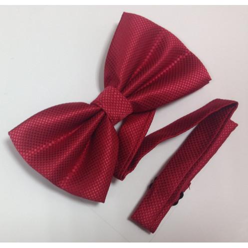 Бабочка БАБОЧКА  HGB001 однотон/фактурная 03 красный