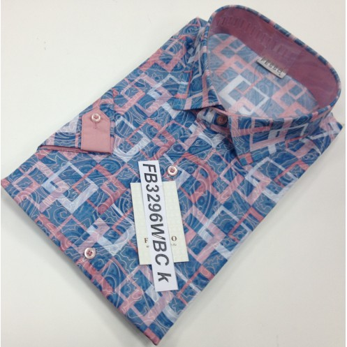 Рубашка к/р FESSO FB3296WBC k